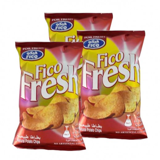 Fico Fresh Lightly Salted 80 g (3 Pieces)