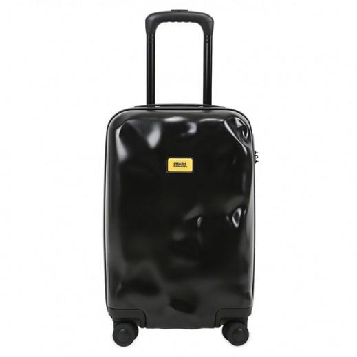 Crash Baggage Spinner Suitcase Super Black 01 - Medium (64 X 40 X 26 cm)