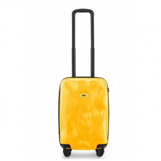 Crash Baggage Spinner Suitcase Mustard Yellow 04 - Small (55 X 33 X 20 cm)