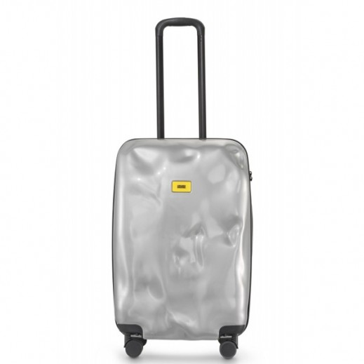 Crash Baggage Spinner Suitcase Silver Medal 21 - Medium (64 X 40 X 26 cm)