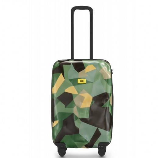 Crash Baggage Spinner Suitcase Camo 40 - Medium (64 X 40 X 26 cm)