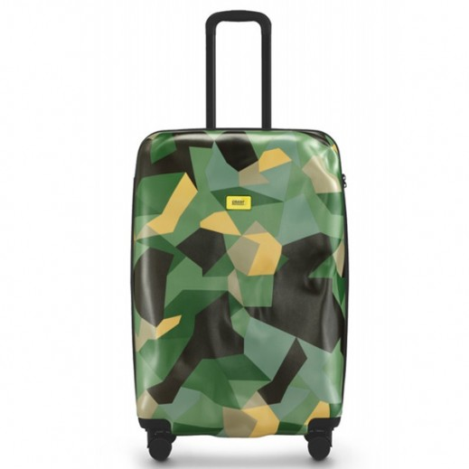 Crash Baggage Spinner Suitcase Camo 40 - Large  (74 X 46 X 29 cm)