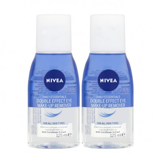 Nivea Double Effect Eye Make-Up Remover (2x125 ml)