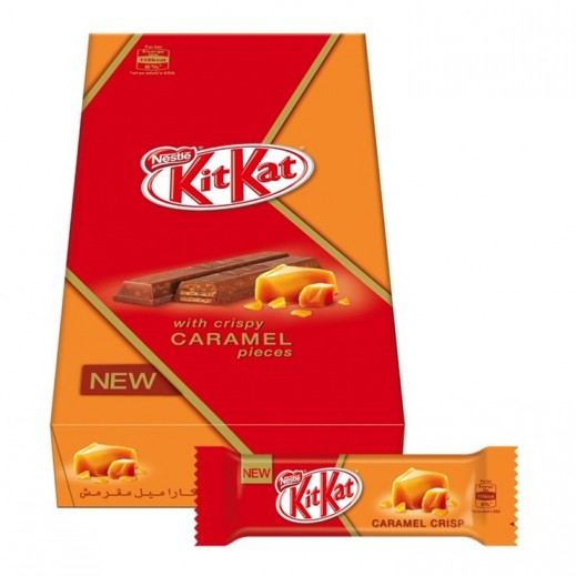 KitKat 2F Caramel Chocolate (18 x 23 g)