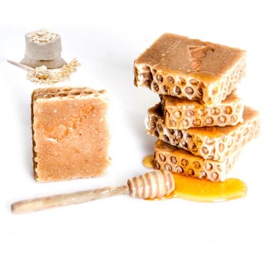 Honey Natural Handmade Oat Soap 100 g