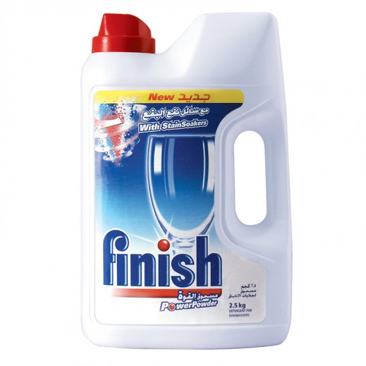 Finish Detergent Power Powder Original Dishwasher 2.5 kg