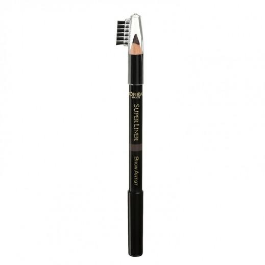 L'Oreal Paris Super Liner Brow Artist Eyeliner 04 Dark Brunette