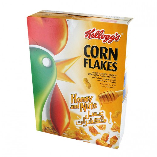 Kellogg's Cornflakes Honey & Nut 375 g