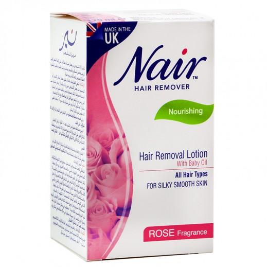 Nair Hair Removal Lotion Rose Fragrance 120 ml