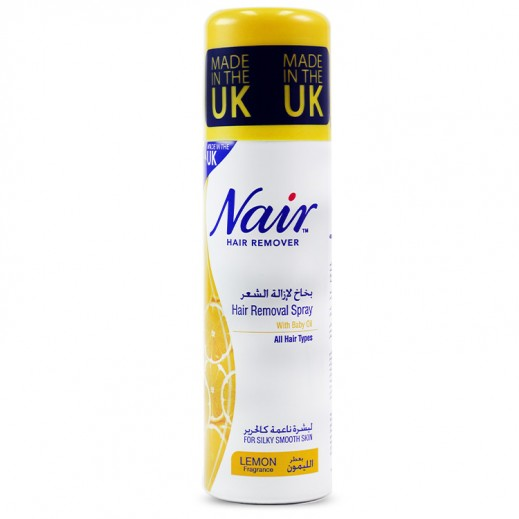 Nair Hair Removal Spray Lemon Fragrance 200 ml