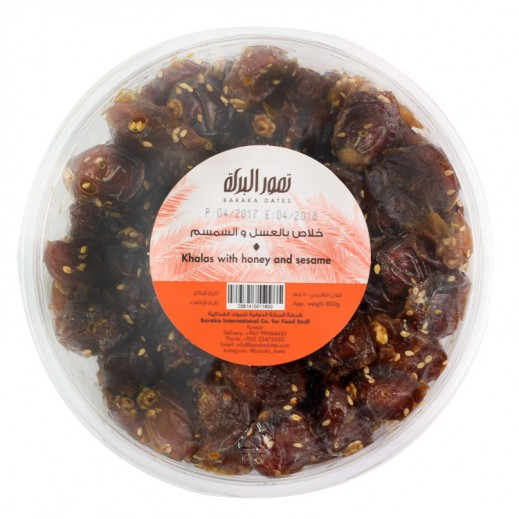Baraka Khalas With Honey And Sesame Dates 800 g
