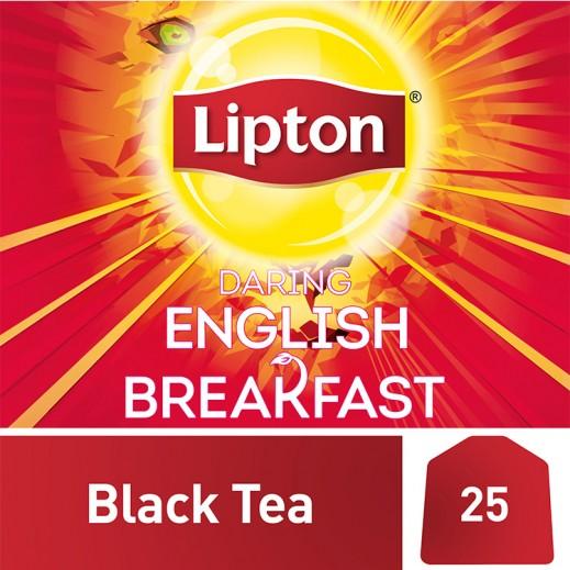 Lipton Flavoured Black English Breakfast Tea 25 Bags