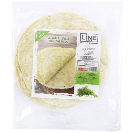 Line Food Dill Bread 200 g (5 Pieces)