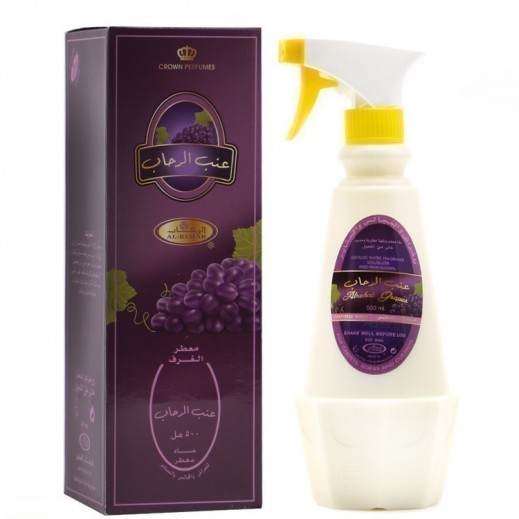 Al Rehab Alrehab Grapes Perfumed Water Room Freshener 500 ml