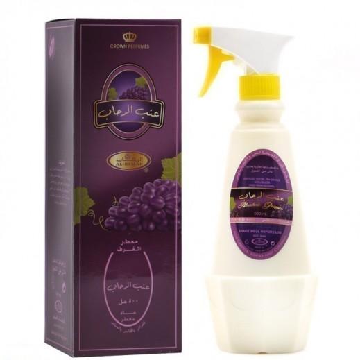 Al Rehab Alrehab Grapes Perfumed Water Room Freshener 500 ml