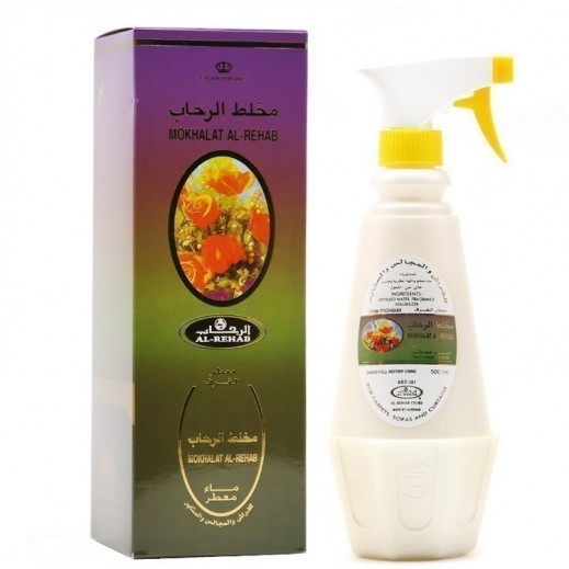 Al Rehab Mokhalat Al Rehab Perfumed Water Room Freshener 500 ml