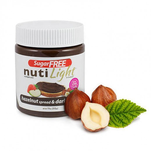 Nutilight (Sugar Free) Hazelnut & Dark Chocolate Spread 312 g