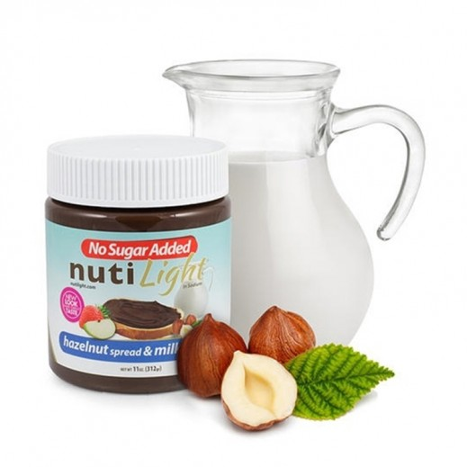 Nutilight (Sugar Free) Hazelnut & Milk Chocolate Spread 312 g