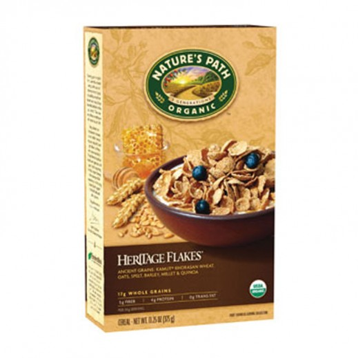 Natures Path Organic Heritage Flakes 375 g