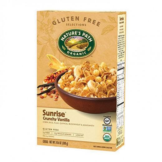 Natures Path Organic Sunrise Crunchy Vanilla Flakes 300 g