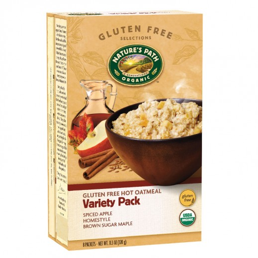 Natures Path Organic Hot Oatmeal Variety Pack 320 g