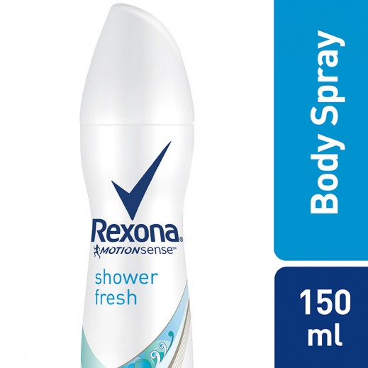 Rexona Women Antiperspirant Deodorant Shower Fresh 150 ml