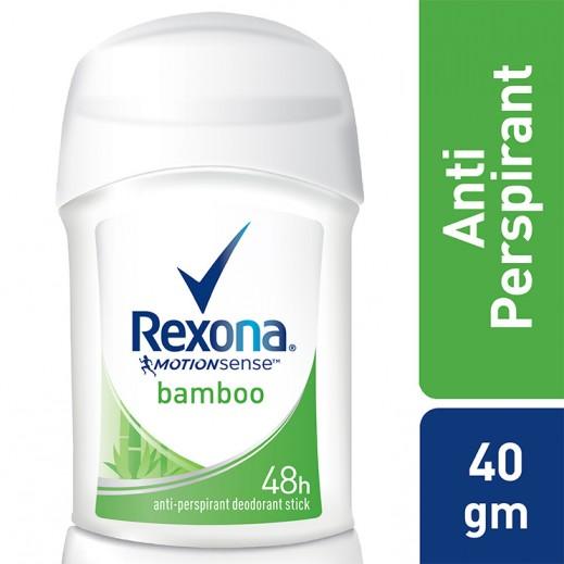Rexona Women Antiperspirant Stick Bamboo Dry 40 g