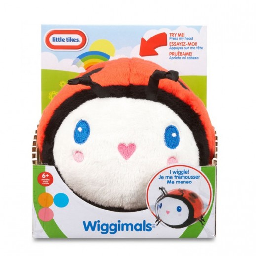 Little Tikes Wiggimals Wiggle Ladybug