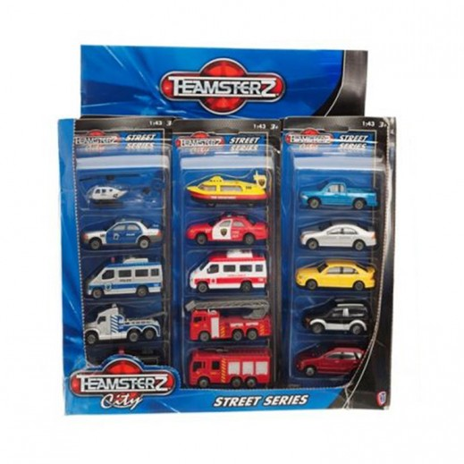 Teamsterz Die Cast Vehicle 5 Pack