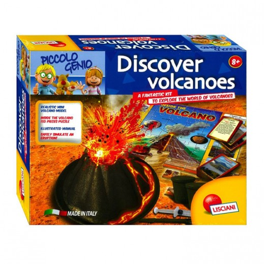 Piccolo Genio Discoveries In Volcanology Eductional Puzzle