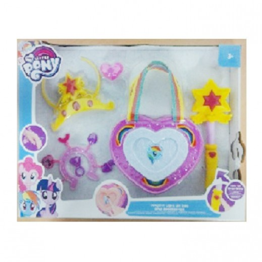 My Little Pony Light Up Bag & Jewellery