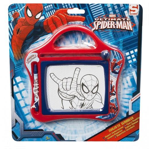Marvel Spiderman Magnetic Scribbler - Small