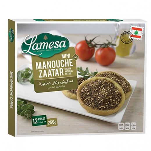 Lamesa Mini Manouche Zaatar 12 Pieces
