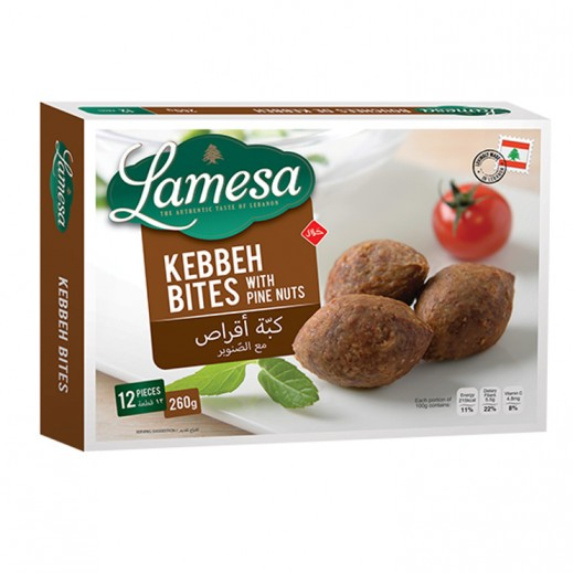 Lamesa Kebbeh Bites with Pine Nuts 12 pieces