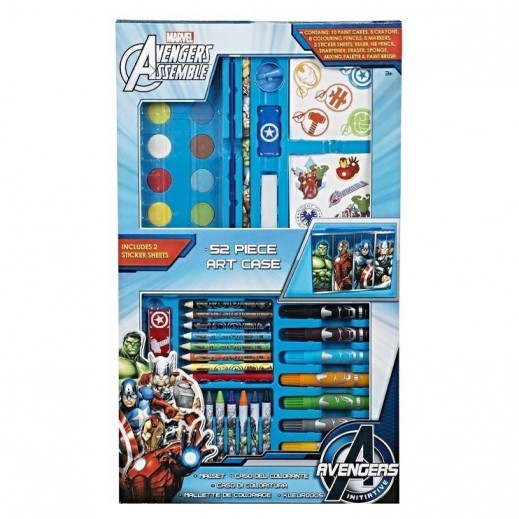 Marvel Avengers Art Case Set - 52 Pieces