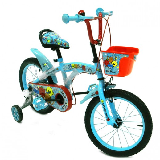 Mr. Men Bicycle - Blue - delivered by Click Toys Within 2 Working Days