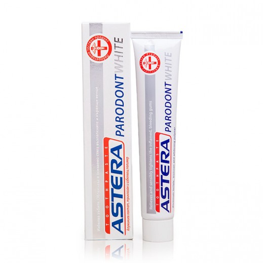 Astera Parodont White Toothpaste 75 ml