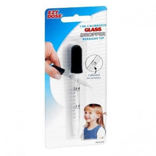 Ezy Dose Calibrated Glass Dropper 1 ml (Capacity)
