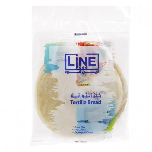Line Food Tortilla Bread 600 g (3 Pieces)