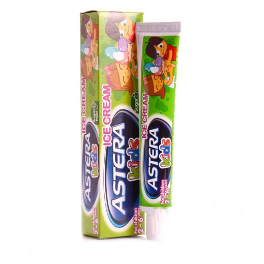 Astera Kids Ice Cream Toothpaste 50 ml (2 - 6 Years)
