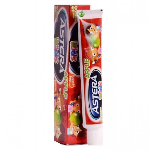 Astera Kids Apple Toothpaste 50 ml (4+ Years)