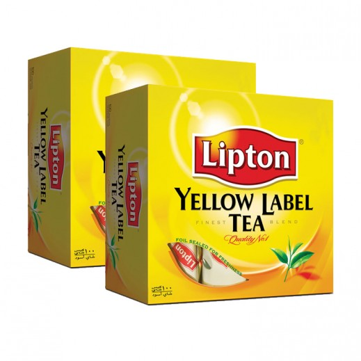 Lipton Yellow Label Tea 2x100 bags
