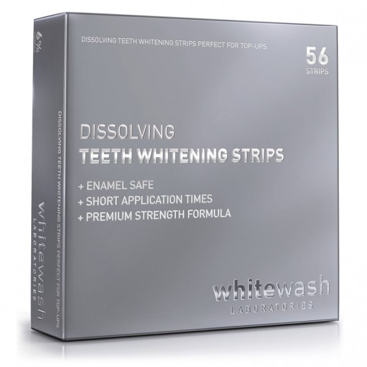 Whitewash Laboratories Dissolving Teeth Whitening Strips 56 Pieces
