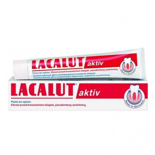 Lacalut Aktiv Medical Toothpaste 75 ml