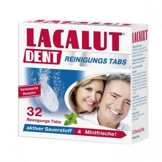 Lacalut Dent Cleansing Tablet 32 Pieces