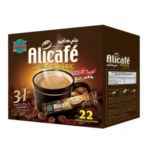 Ali Cafe 3 In 1 Classic Coffee Box 20 g (22+4 Free)