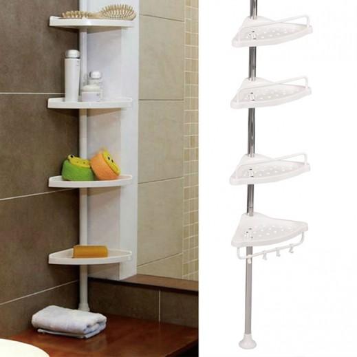 Bath Room Corner Shelves