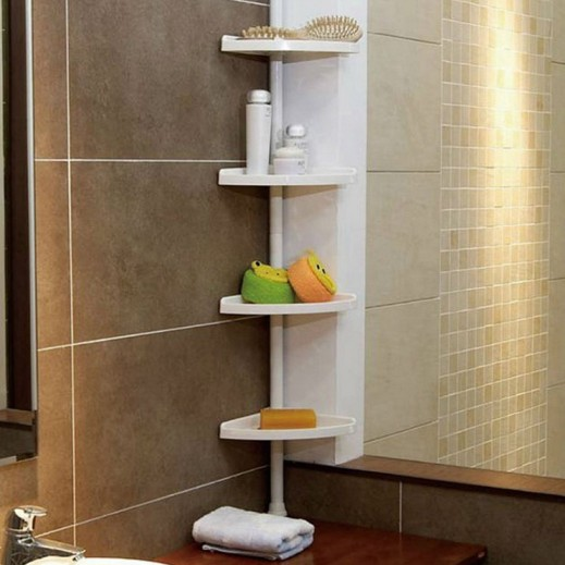 4 Layers Kitchenware Corner Shelf