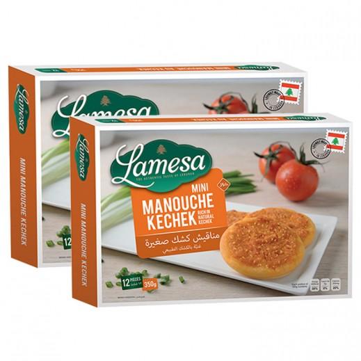 Lamesa Mini Manouche Kechek 2 x 12 Pieces
