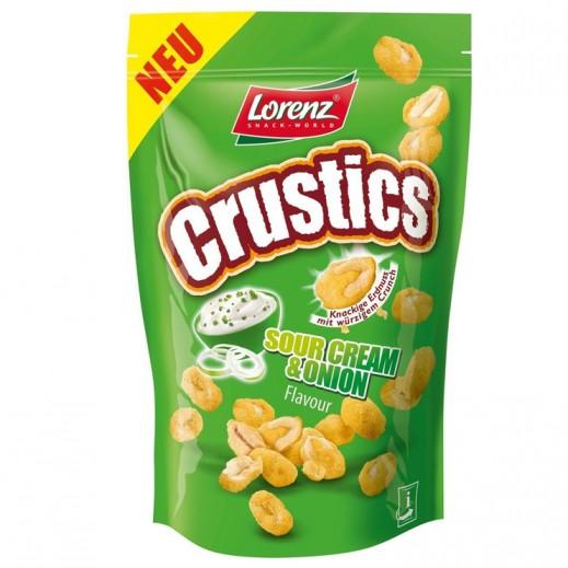 Lorenz Crustics Sour Cream & Onion Crunch Peanut 110 g